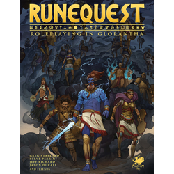 RuneQuest: Roleplaying in Glorantha (hardcover)