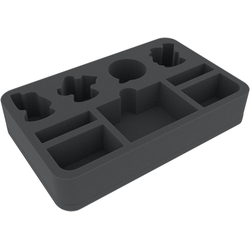 Feldherr 50mm half-size foam tray for Shadespire Magore's Fiends