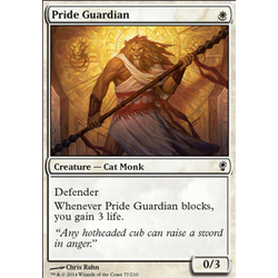 Magic löskort: Conspiracy: Pride Guardian