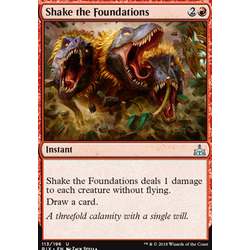 Magic löskort: Rivals of Ixalan: Shake the Foundations