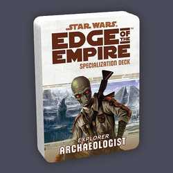 Star Wars: Edge of the Empire: Specialization Deck - Archaeologist