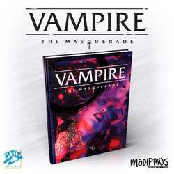 Vampire: The Masquerade (5th ed) - Core Rulebook (standard ed)