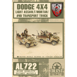 Allies Dodge 4X4 (Light Assault / Mortar / Transport Truck) (1)