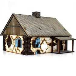 28mm Russian Rural Cottage