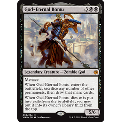 Magic löskort: War of the Spark: God-Eternal Bontu
