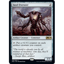 Magic löskort: Core Set 2020: Steel Overseer