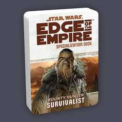 Star Wars: Edge of the Empire: Specialization Deck - Bounty Hunter Survivalist