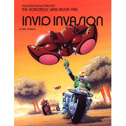 The Robotech RPG Book Five: Invid Invasion (1988)