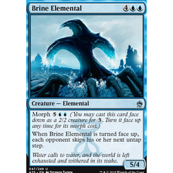 Magic löskort: Masters 25: Brine Elemental