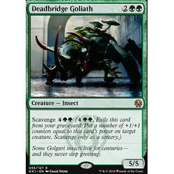 Magic löskort: Guild Kits: Deadbridge Goliath
