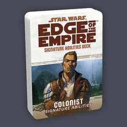 Star Wars: Edge of the Empire: Specialization Deck - Colonist Signature Abilities