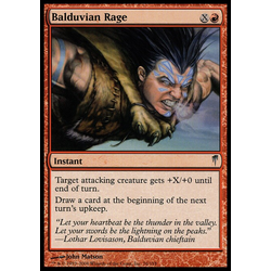 Magic löskort: Coldsnap: Balduvian Rage