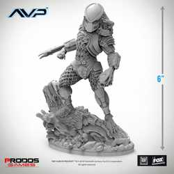 Alien vs Predator: Jungle Hunter Statue