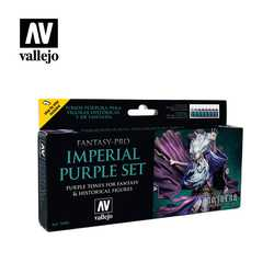 Vallejo Paint Set Imperial Purple