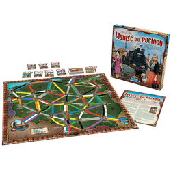 Ticket to Ride Map Collection 6.5 - Poland