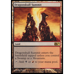 Magic löskort: Core Set 2011 (M11): Dragonskull Summit