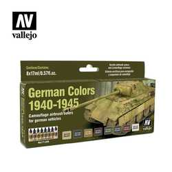 Vallejo Paint Set German Colors 1940-1945