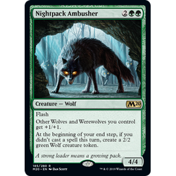 Magic löskort: Core Set 2020: Nightpack Ambusher