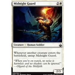 Magic löskort: Battlebond: Midnight Guard