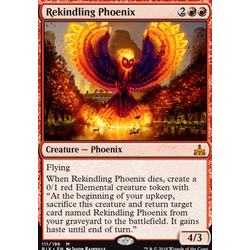 Magic löskort: Rivals of Ixalan: Rekindling Phoenix