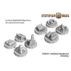 Dystopian Wars Battlefield Objective Set
