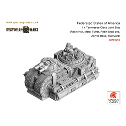 Federated States of America Tennessee Class Land Ship (1)
