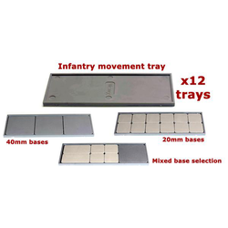 Victrix Plastic Infantry Movement Trays (12)
