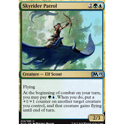 Magic löskort: Core Set 2019: Skyrider Patrol