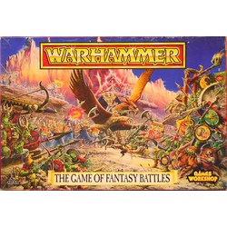 Warhammer, The Game of Fantasy Battles 4th Edition, Box