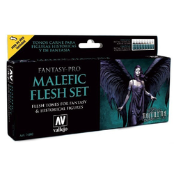 Vallejo Paint Set Malefic Flesh