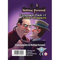 Nothing Personal: Expansion Pack 1 Game Designers