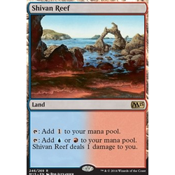 Magic löskort: M15: Shivan Reef