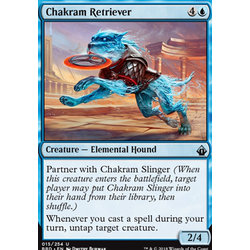 Magic löskort: Battlebond: Chakram Retriever