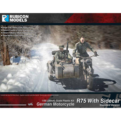Rubicon: German Motorcycle R75 with Sidecar (ETO)