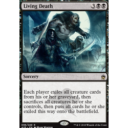 Magic löskort: Masters 25: Living Death