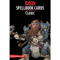 D&D 5.0: Spellbook Cards - Cleric (2018 Ed.)