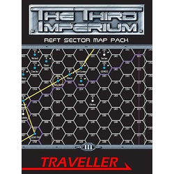 Traveller 3rd ed: Reft Sector Map Pack