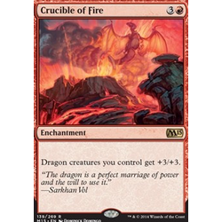 Magic löskort: M15: Crucible of Fire