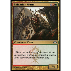 Magic löskort: Gatecrash: Ruination Wurm
