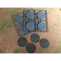 Renedra 50mm Diameter Paved Bases (8)
