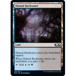 Magic löskort: Core Set 2020: Dismal Backwater