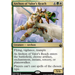 Magic löskort: Battlebond: Archon of Valor's Reach