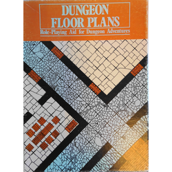 Dungeon Floor Plans 1+2, 1982