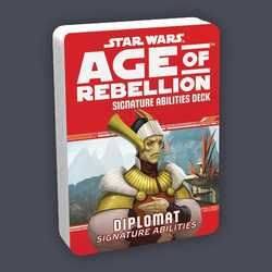 Star Wars: Age of Rebellion: Specialization Deck - Diplomat Signature Abilities