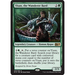 Magic löskort: M15: Yisan, the Wanderer Bard