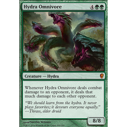 Magic löskort: Conspiracy: Hydra Omnivore