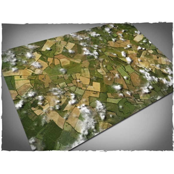 DCS Game Mat Aerial Fields 4x6 ~ 122x183cm (Mousepad)