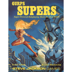 GURPS 3rd ed: Supers 2nd ed