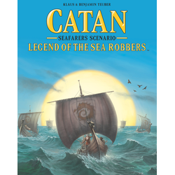 Settlers of catan (5th ed): Seafarers - Legend of the Sea Robbers