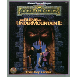 ADD 2nd ed: The Ruins of Undermountain II: The Deep Levels (Ej komplett)